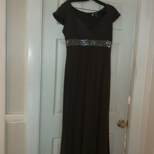 JS Boutique brown dress